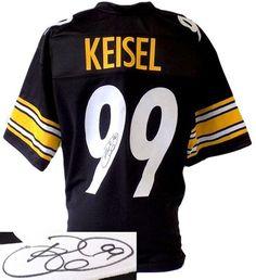 BRETT KEISEL SIGNED CUSTOM PRO-STYLE BLACK FOOTBALL JERSEY JSA Football  Jerseys fe0d28187