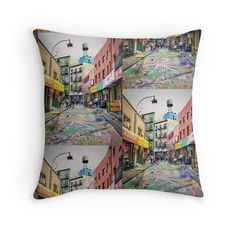 Chinatown, New York City Soft Furnishings, New York City, Bubble, Throw Pillows, Creative, Photography, Decor, Toss Pillows, Photograph