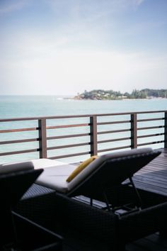 The Tongsai Bay - Das beste Hotel auf ganz Koh Samui Ko Samui, Villa, Beste Hotels, Das Hotel, Restaurant, Outdoor Furniture, Outdoor Decor, Sun Lounger, Thailand