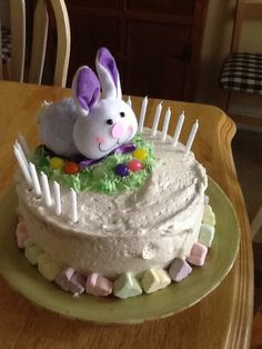 Cute Easter cake for  Kenny's birthday