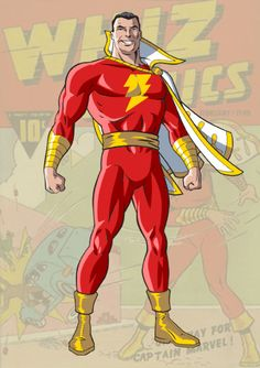 Captain Marvel #DCComics Shazam - Whiz Comics