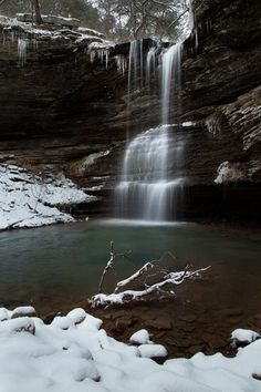 Zack Andrews_Schoolhouse Falls_Arkansas Waterfalls on Facebook_2/13/12 #visitarkansas