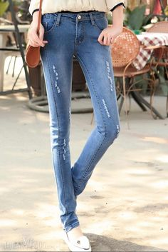 Slim, Pants , $25.99,  New Arrival Skinny Vogue Slim Jeans