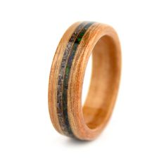 Simply Wood Rings: Mother's Wood Ring