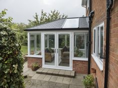 Read more about our Ultraroof tiled conservatory roofs here. Conservatory Ideas Sunroom, Tiled Conservatory Roof, Modern Conservatory, Conservatory Kitchen, Conservatory Ideas Interior Decor, Conservatory Interiors, House Extension Design, House Design, Extension Ideas