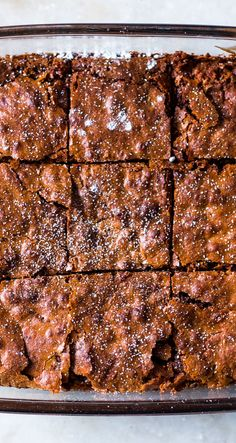 Easy Gluten Free Chickpea Flour Brownies