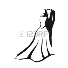 Wedding couple Stock Vector - 11936901