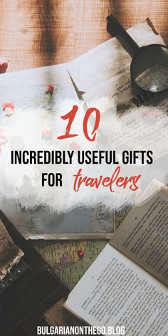A guide to the 10 best and most useful gifts you can give to a travel lover. Europe Travel Tips, Packing Tips For Travel, Travel Advice, Travel Essentials, Budget Travel, Travel Guides, Travel Destinations, Packing Lists, Europe Packing