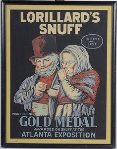 Lorillard's Snuff Advertisement - Cowan's Auctions