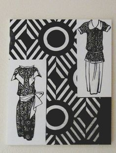 Artist Textiles at the Fashion and Textile Museum. Designs by Liubov Popova, Russian Constructivism.