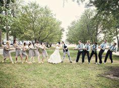 tug of war- wedding pictures Wedding Fotos, Wedding Vendors, Wedding Pictures, Diy Wedding, Dream Wedding, Wedding Ideas, Weddings, Wedding Stuff, Wedding Inspiration