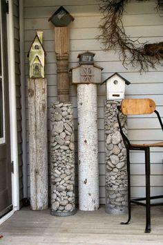 DIY Gartenprojekte mit Steinen