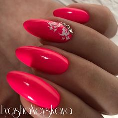 What Christmas manicure to choose for a festive mood - My Nails Red Acrylic Nails, Summer Acrylic Nails, Red Nails, Spring Nails, Summer Nails, Beautiful Nail Art, Gorgeous Nails, Cute Nails, Pretty Nails