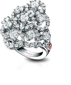 Diamond cocktail ring by Damiani
