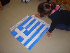Beach Mat, Outdoor Blanket, 28th October, Flags, National Flag