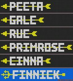 Alpha Friendship Bracelet Pattern #9115 - BraceletBook.com
