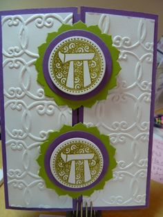 Bat Mitzvah Card for Cami by rachnsarahsmom - Cards and Paper Crafts at Splitcoaststampers Bar Mitzvah Decorations, Bar Mitzvah Favors, Bat Mitzvah Themes, Bar Mitzvah Invitations, Invites, Jewish Celebrations, Flower Step By Step, Hannukah, Judaism
