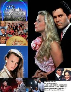 Santa Barbara, oui j'avoue, je regardais et j'aimais cette série !