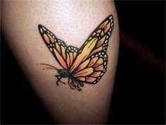 Women Tattoos Design: The most beautiful 3D butterfly tattoos images for women