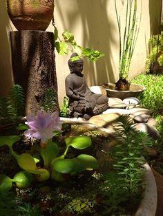 15 Most Popular Asian Garden Design Inspiration for Your Backyard - Home Bigger Zen Garden Design, Japanese Garden Design, Garden Art, Zen Design, Garden Plants, Modern Design, Jardin Zen Interior, Buddha Decor, Meditation Garden