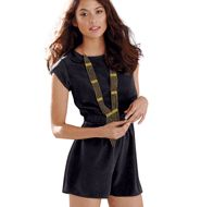"""Mark. Roll With It Romper $32. Free shipping wen you enter code """"Welcome"""" www.mymarkstore.com/tdavies"""