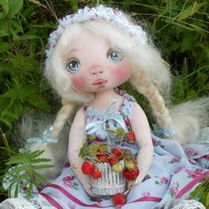 Textile dolls by yulia natalevich