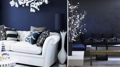 In the Navy - perfect wall colour