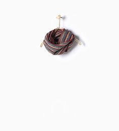 ZARA - KIDS - Striped knit snood