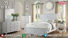 Best Seller Tempat Tidur Minimalis Putih Epic Design Minimalist Jepara MMJ-0894