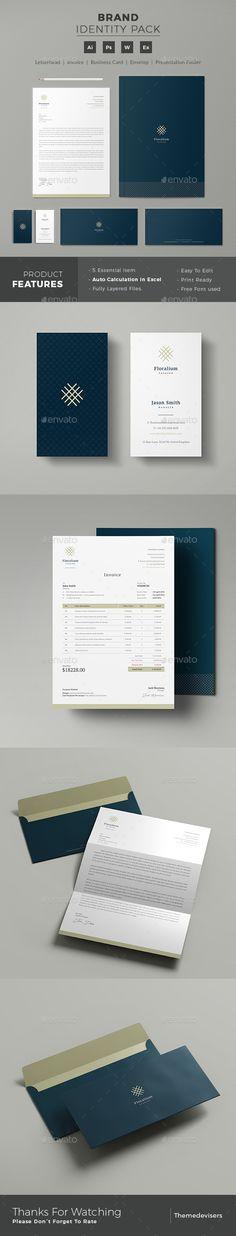 #Corporate #Identity - #Stationery Print Templates