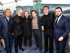 No idea why this shots going bonkers on from the Belfast premiere green room of Jerome Flynn Ben Crompton Kit Harrington Jerome Flynn, Isaac Hempstead Wright, Crocodile Dundee, Game Of Thrones Cast, Kit Harrington, Green Rooms, Season 8, Belfast
