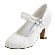 Women's Wedding Shoes Basic Pump Stretch Satin Spring Fall Wedding Party & Evening Crystal Chunky Heel Ivory White 2in-2 3/4in - AUD $53.37 ! HOT Product! A hot product at an incredible low price is now on sale! Come check it out along with other items like this. Get great discounts, earn Rewards and much more each time you shop with us!