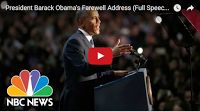 SCG VIRALS: President Barack Obama's Farewell Address (Full Speech) | NBC News