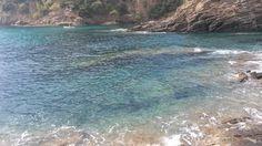 La calanque du Cron, à Cavalaire sur Mer.