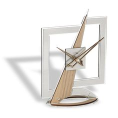 AESTHETIC SQUARED TABLE CLOCK BY INCANTESIMO DESIGN - Luxxdesign.com - 2