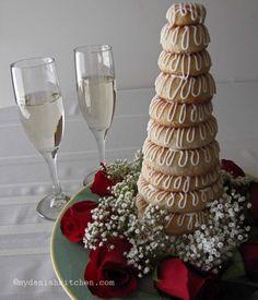 Kransekage - Danish Wedding Cake