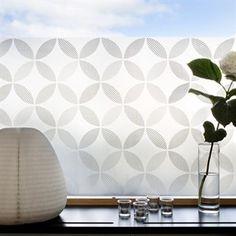 Petals Deko-Fensterfolie - 48 x 120cm - Siluett Frost  70 € 85x120cm   und 47€ 48x120cm