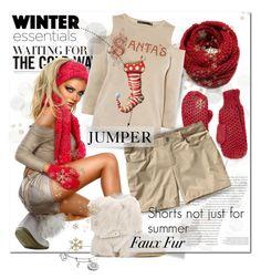 """Christmas Jumper"" by wanda-india-acosta ❤ liked on Polyvore featuring Balenciaga, Chicnova Fashion, Karen Millen, Patagonia and Gianvito Rossi"
