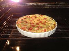Drizzle of life: Quiche, mushroom asparagus and bacon. Bellini intelli kitchen master, thermomix, BIKM