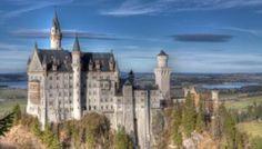 Нойшванштайн - Новый лебедь Каменный замок - Германия - 2