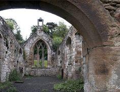 Templar Church ruins, Scotland.