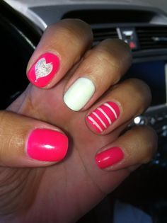 Could totally see me doing these. Yes they are different but they are all matching a lot so they are beautiful