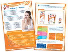 Diseño publicitario/editorial - Stop Diseño Gráfico - Diseño de Block Svelty - Intolerancia a la lactosa - Nestlé México.