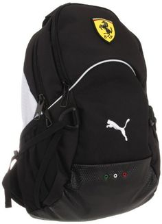 11363f1e06f Puma Ferrari Replica Small PMAF1006 Backpack,Black,One Size PUMA.  54.99  Ferrari Replica