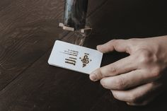 """The brand identity design for Torrefacto Coffeetakes the idea of """"branding"""" quite literally. The logo has been made into a branding iron that's used to burn the mark into different materials giving a unique texture and color, while reinforcing the process and productof the company. """"Torrefacto""""a style of roasting beans."""