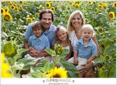 Sunflower Session  Morgan Family