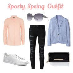 Spring Look: Sporty & Colourful!