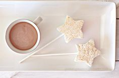 DIY Sparkle Party Marshmallow and Hot Chocolate