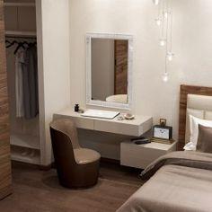Trendy Bedroom Closet With Tv Tv Rooms Simple Dressing Table, Dressing Table Design, Dressing Tables, Bedroom Wardrobe, Home Bedroom, Bedroom Furniture, Furniture Design, Modern Bedroom Decor, Trendy Bedroom