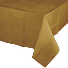 Glittering Gold Paper Rectangular Table Covers With Plastic Lining ct) Paper Tablecloth, Tablecloth Sizes, Plastic Tablecloth, Round Tablecloth, Banquet Tablecloths, Dressing Your Table, Plastic Table Covers, Gold Paper, Colors